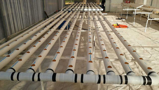 Sistema Hidropónico Nft De Pvc Para Hortalizas