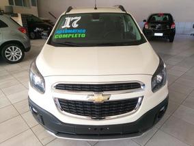 Chevrolet Spin 1.8 Activ 2017 Automatico Completo Branca