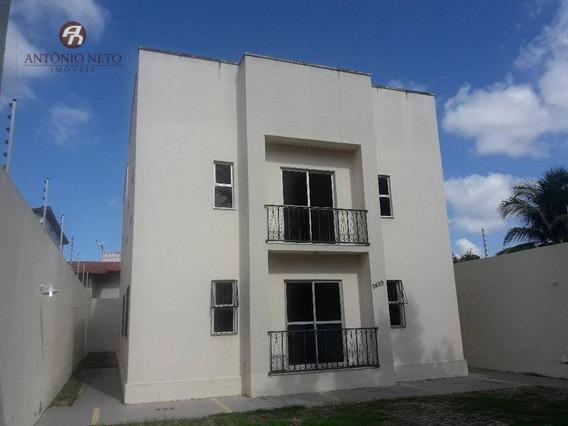 Apartamento Com 3 Dormitórios Para Alugar, 65 M² Por R$ 650/mês - Parque Albano (jurema) - Caucaia/ce - Ap0195