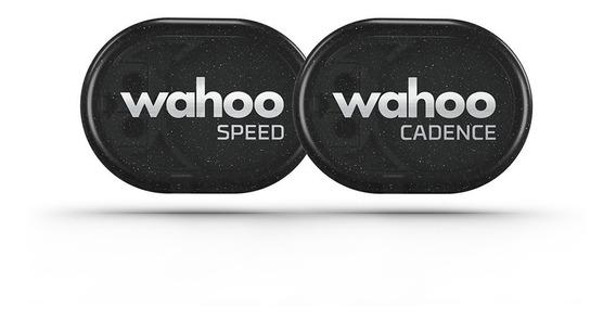 Wahoo: Combo Sensores De Velocidad Y Cadencia
