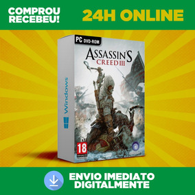 Assassins Creed Iii - Pc + Tradução - Envio 0