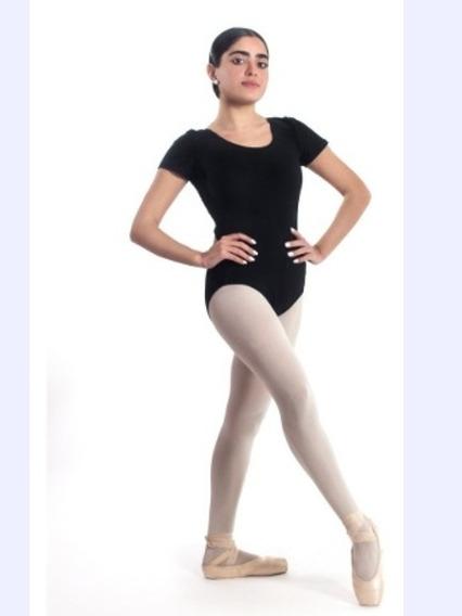 Combo Malla Elizabeth De Ballet + Zapatillas De Media Punta
