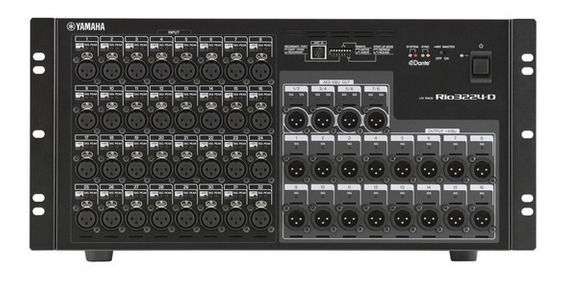 Interface Yamaha Para Mesa Digital Rio 3224 D - Stage Box