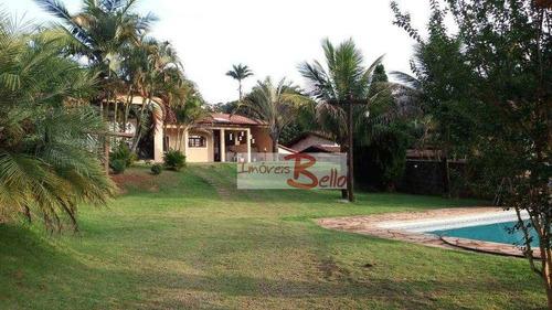 Chácara Com 3 Dormitórios À Venda, 1000 M² Por R$ 730.000 - Parque São Gabriel - Itatiba/sp - Ch0329