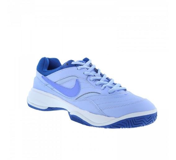 Tênis Feminino Nike Court Lite Azul Original - Footlet