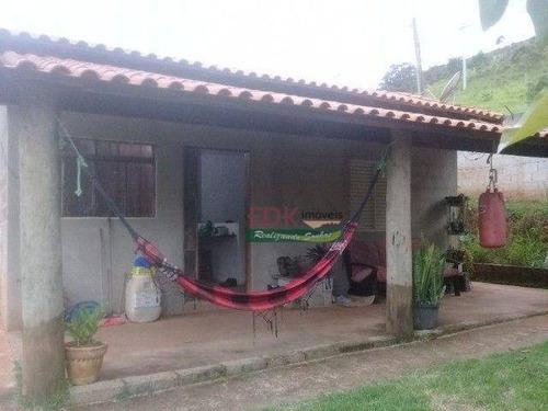 Imagem 1 de 10 de Chácara Com 1 Dormitório À Venda, 2500 M² Por R$ 220.000,00 - Centro - Redenção Da Serra/sp - Ch0818