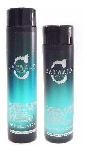 Tigi Catwalk Avena Y Miel Kit Shampoo + Acondicionador Chico