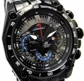 Relógio Edifice Ef-550d Red Bull C/fundo Blak Oferta Caixa