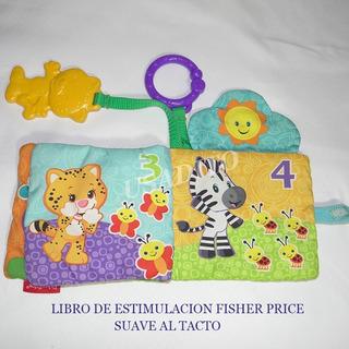 Libro Suave Estimulación Primeros Pasos Fisher Price, Usado