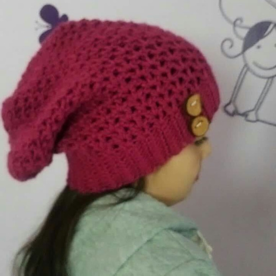 Gorro Tipo Slouchy Hombre-mujer