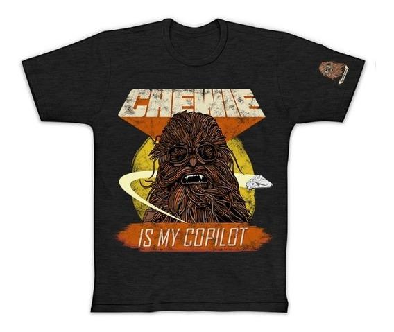 Camisa Adulto Plus Size Oficial Star Wars Chewie Chewbacca