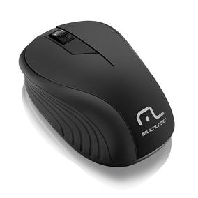 Mouse Sem Fio Multilaser Mo212 Usb 2.4ghz Preto