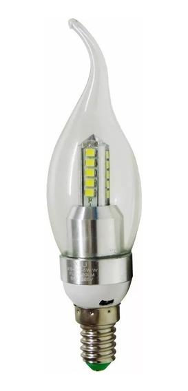 Kit 5 Lampada Vela De Led E14 5w Para Lustre E Pendentes