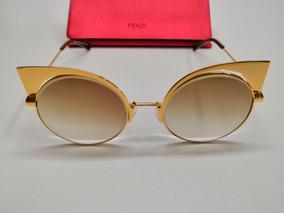 2575d27c0 Oculos De Sol Fendi Eyeshine - Óculos no Mercado Livre Brasil