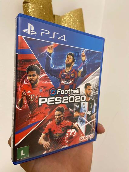 Jogo Pes 2020 Ps4 Playstation 4 Físico