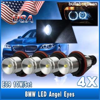4 X E39/e60 5w Led Angel Ojos Halo Ring Bombillas De Alta