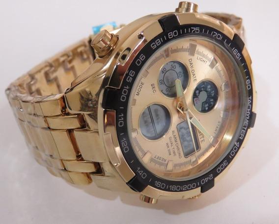 Relógio Masculino Leisite Importado Original Resistente Agua