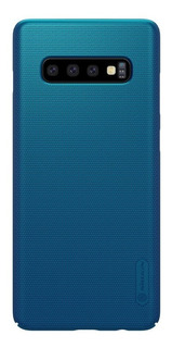 Capa Samsung Galaxy S10+ Plus Nillkin Super Frosted Azul