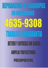 *reparacion De Lavaropas Flores,floresta Y Mataderos*