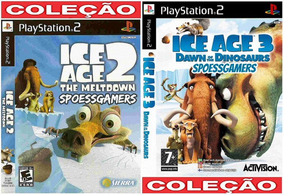 Ice Age 2 E 3 Coleção ( Era Do Gelo ) Ps2 Patch .