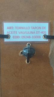Tornillo Tapon Aceite De Valvulina De Motor Suzuki Dt40s