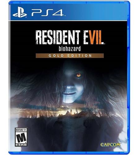 Imagen 1 de 1 de Resident Evil 7 Biohazard Gold Edition Playstation 4