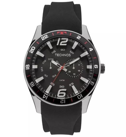 Relógio Technos Masculino Racer 6p25bn/8p Promoção E Nota F.
