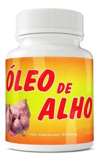 Óleo De Alho 500mg 100 Cápsulas Ervas Brasillis