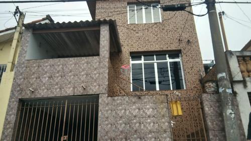 Imagem 1 de 12 de Casa À Venda, 2 Quartos, 1 Vaga, Sacadura Cabral - Santo André/sp - 75421