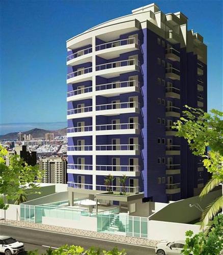 Imagem 1 de 12 de Apartamento De 2 Suites, 2 Vagas Em Praia Grande - Pas180