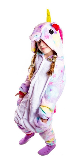 Pijama Unicornio Kigurumi Plush Suave Cuota Party
