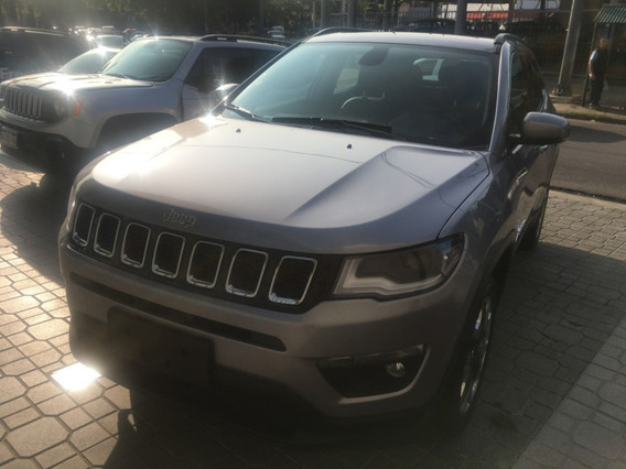 Jeep Compass Longitude 2.4 At6 My20 Gris 0 Km