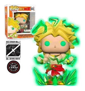 Funko Pop! Broly 623 6pul Glow Chase Exclusivo Original