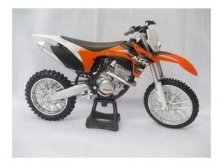 Miniatura Moto Ktm 350 1:12 Motocross Velocross - Promocao