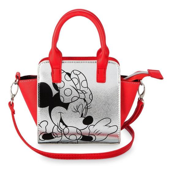 Disney Parks Bolsa Croosbody Niña Minnie Mouse Correa 2019