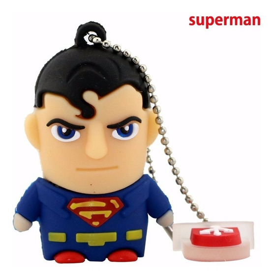Pen Drive Super Homem 8gb 2.0