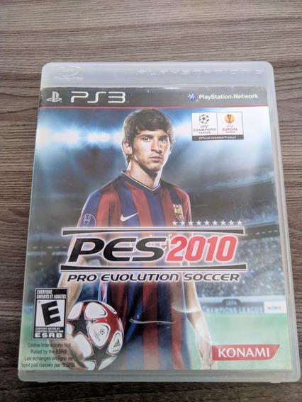 Pro Evolution Soccer Pes 2010 - Ps3