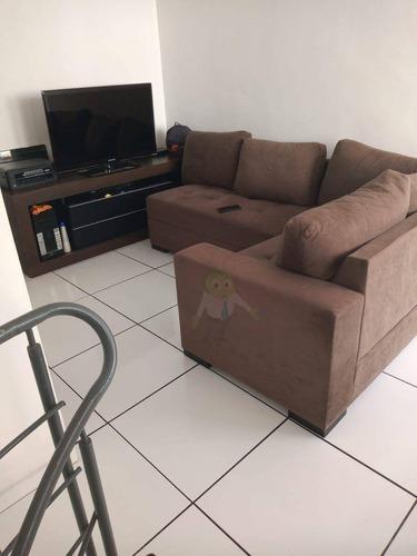 Cobertura Com 2 Dormitórios À Venda, 8 M² Por R$ 267.000 - Vila Lutécia - Santo André/sp - Co0370
