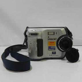 Câmera Sony Fd Mavica Mvc-fd100 Disquete - Usado Com Defeito