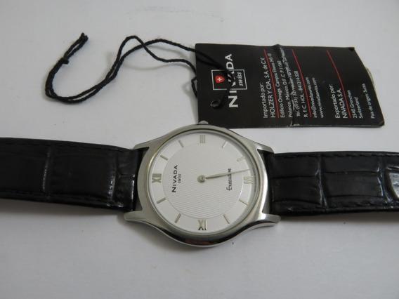 Reloj Nivada Executive Gc2385g/2 Piel Ng2385gacbr