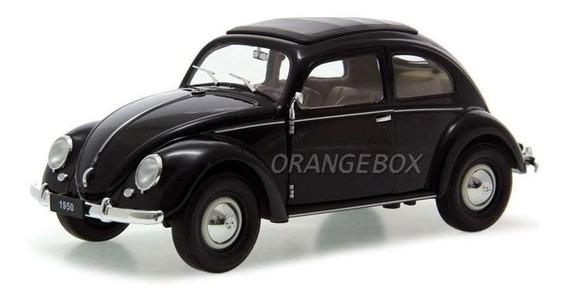 Miniatura Volkswagen Fusca 1950 Welly 1:18