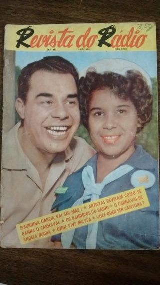 Revista Do Rádio - Isaurinha Garcia, Angela Maria - N491
