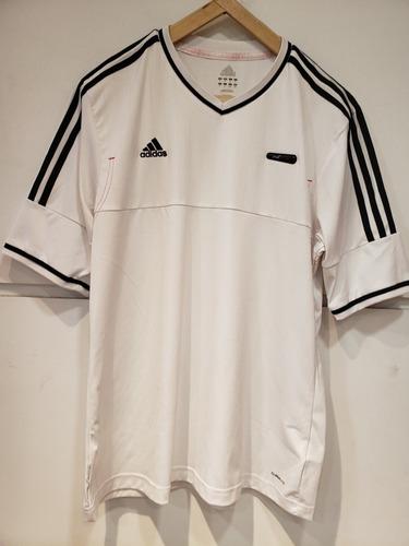 Camiseta De Entrenamiento Blanca adidas Usada Como Nueva