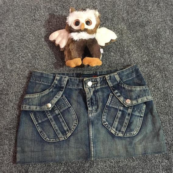 Saia Jeans Feminina 0010