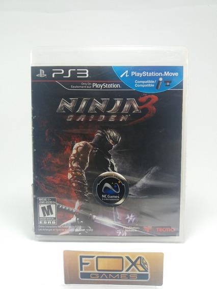 Ps3 Jogo Ninja Gaiden 3