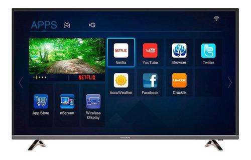 """Smart TV Hyundai HYLED-43UHD 4K 43"""" 220V"""