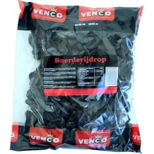 Venco Farm Drop Hard Salt /farm Regaliz Caramelo Salado Duro