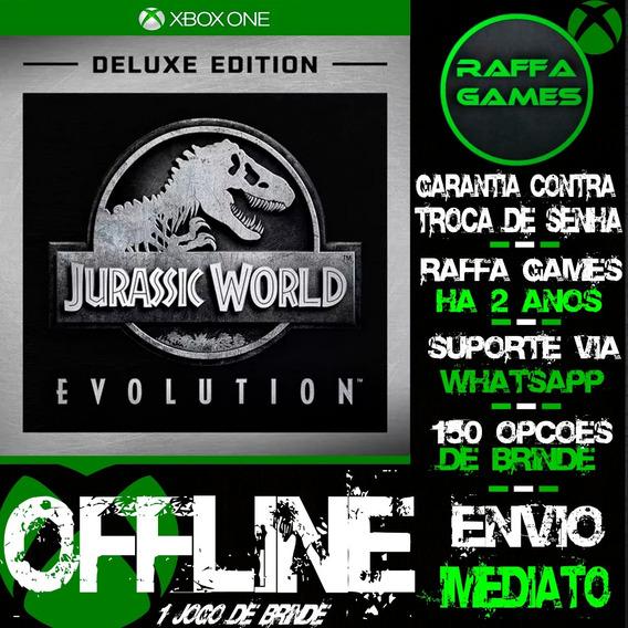 Jurassic World Evolution Deluxe Xbox One Offline + Brinde