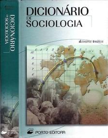 Dicionário De Sociologia - Dicionários Temáticos