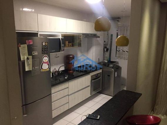 Condomínio Upper Ville Apartamento Com 3 Dormitórios À Venda, 62 M² Por R$ 350.000 - Parque Viana - Barueri/sp - Ap2998